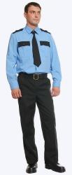 Рубашка охранника, длинный рукав