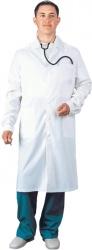 Халат медицинский бязь мужской