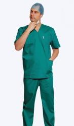 Костюм хирурга универсальный зеленый