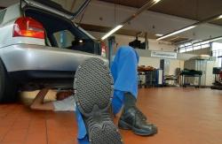 Анти-скользящая обувь
