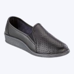 Туфли женские ПВХ мелкая перфорация