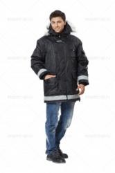 """Куртка утепленная """"Аляска эксперт удлиненная"""""""